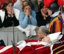 before the funeral of Pope John Paull II