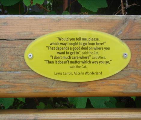travel -Alice in Wonderland